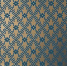 Обои Little Greene London Wallpapers Bayham Abbey - Celestial Teal And Gold Wallpaper, Gold Wallpaper Pattern, Gothic Wallpaper, Luxury Wallpaper, Green Wallpaper, Colorful Wallpaper, Fabric Wallpaper, Wallpaper Designs