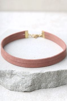 #AdoreWe #Lulus Lulus Get Out of Town Rusty Rose Layered Choker Necklace - AdoreWe.com