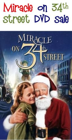 Miracle on 34th Street DVD Sale: $4.99!