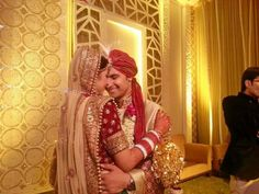 Sargun Mehta weds Ravi Dubey Celebrity Couples, Celebrity Weddings, Ravi Dubey, Tv Actors, Best Couple, Celebs, Celebrities, Lehenga, Cute Couples