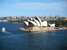 L'opéra de Sydney ! Quelle belle ville !!! :)