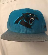f4a199bc5e4 Carolina Panthers New Era NFL Reflective 9FIFTY Snapback Cap Hat New