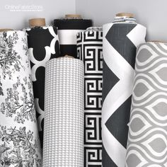 black white and gray fabric from premier prints including toile houndstooth geometric and quatrefoil designs here are options of fabric lori davis