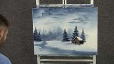 Paint with Kevin Hill - Cold Snowy River