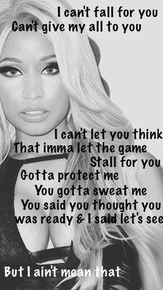 Nicki Minaj - I Lied