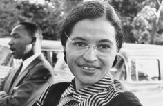 """Rosa Parks - vegetarian over 40 years: """"If you choose kindness and humanity, you will have peace and prosperity. It also comes from being generous to others when there is no benefit to yourself."""""""