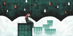 With love, Sam - some illustrations from my silent book on Behance