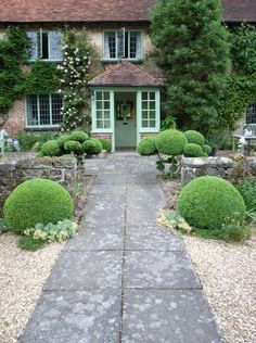 /\ /\ . Jake Hobson . cloud pruning & organic topiary . sandhill farm box