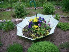 30 Elegant Shabby Chic Gartendeko Ideen