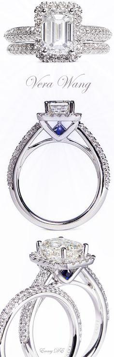 Emmy DE * Vera Wang 'LOVE' Diamond Engagement Ring