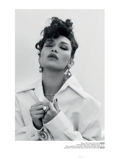 Far from her first magazine cover, Bella Hadid's image fronting the May 2016 issue of Vogue Turkey marks a major occasion. It is the American model's first Vogue cover ever, and a pretty good one at that. Dressed in all white, Bella looks like a movie star on set, posing outside of a trailer in …