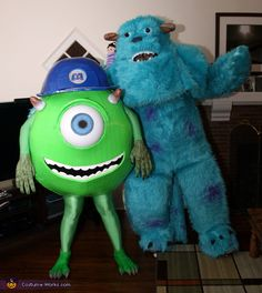 mike and sully 2012 halloween costume contest - Sully Halloween Costumes Monsters Inc