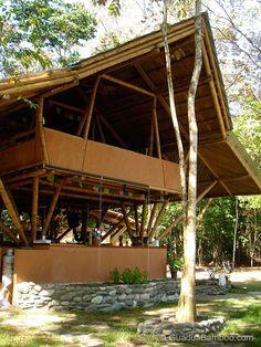 Tropical Guadua Bamboo House in Costa Rica