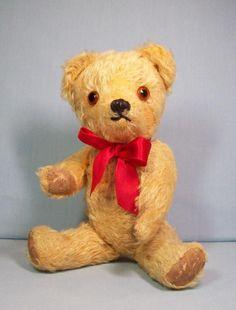 Great Vintage Mohair Teddy Bear from deesdolls on Ruby Lane