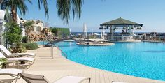 Prices from £799 per person for 7 nights at Rocks Hotel, a luxurious hotel perfectly situated on the seafront, in the centre of Kyrenia. #cyprus Book by 5th July