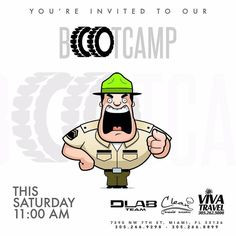 Together with @cleanmealsmiami & @vivatravelmiami we are extremely exited and ready to welcome you guys Saturday  at our #FREE #BOOTCAMP 11:00 am at 7290 nw 7th st Miami fl 33126 unit 105 . For more info call us 305.266.8899 #DLabTeam #DLabGym