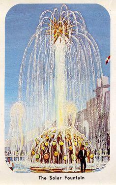 Solar Fountain, New York World's Fair, 1964