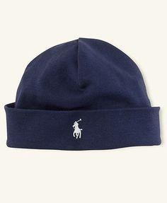 481661b69d9 Ralph Lauren Baby Boys Cotton Hat