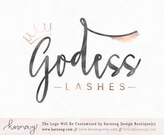 Make up Logo Eyelash logo Beauty Logo Make up Artist Logo Lashes Logo Premade Logo Watermark Logo Business Logo Branding Logo digital logo by karnoug on Etsy