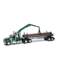 Look what I found on #zulily! Kenworth Log Hauler by New-Ray Toys #zulilyfinds