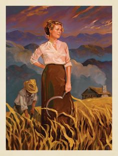 Anderson Design Group – American National Parks – Great Smoky Mountains National Park: Pioneer Woman
