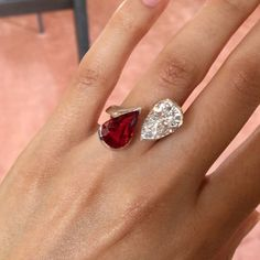 Tips for Buying Diamond Rings and Other Fine Diamond Jewelry Bali Jewelry, Ruby Jewelry, Crystal Jewelry, Diamond Jewelry, Jewelry Rings, Ruby Diamond Rings, Jewellery, Ruby Ring Designs, Red Spinel