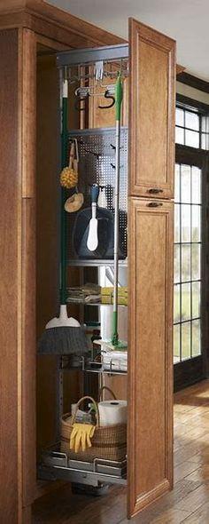 Bon Image Result For Slide Out Broom Closet Shelves