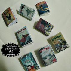 Piccolo Paradiso & Piccolo Inferno FG: Libri di Harry Potter in miniatura