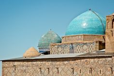 The Khoja Ahmed Yasawi Mausoleum in Kazakhstan is mostly unknown to western people, though UNESCO World Heritage and important in muslim history.