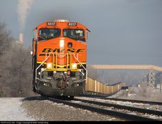 RailPictures.Net Photo: BNSF 6017 BNSF Railway GE ES44AC at Elk River, Minnesota by Mike Vandenberg