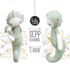 Ravelry: lalylala SEPP seahorse pattern by Lydia Tresselt €5.50 EUR about $6.41