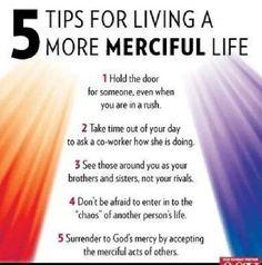 Works of Mercy | Awestruck Catholic Social Network
