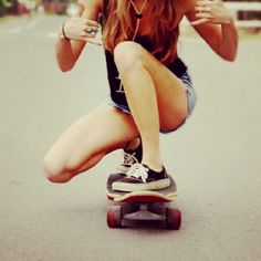 maybe a longboard as a present for myself this summer? E Skate, Skate Girl, Our Little Sister, Little Sisters, Dont Forget To Smile, Skateboard Girl, Skateboard Photos, Just Girly Things, Before I Die