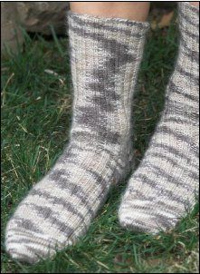 Free Pattern: Sakkie Socks from Plymouth Yarn Company