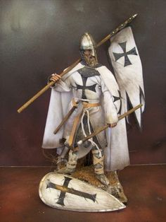 Teutonic Knight of the 1st crusade.