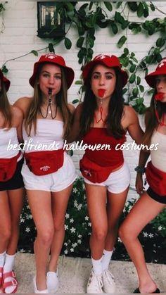 Three Person Halloween Costumes, Halloween Costumes For Teens Girls, Black Girl Halloween Costume, Cute Group Halloween Costumes, Hallowen Costume, Trendy Halloween, Cute Costumes, Halloween Outfits, Women Halloween