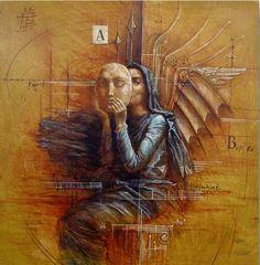 The Omen (study) | Jake Baddeley