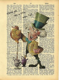 The Mad Hatter <3 :) Alice in Wonderland. Childhood Favorites