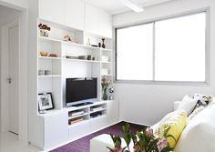 30 salas de televisión, ¡ideales para casas pequeñas! (De Ana Martinez)