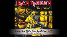 Iron Maiden - Die With Your Boots On *HarD*
