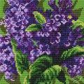 Cushion With Lilacs II