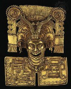 Mixtec: pectoral, about 1000 CE