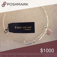 ISO Alex and Ani Spacious Skies NOT FOR SALE - searching for one.  Someone took mine trying to replace. Alex & Ani Jewelry Bracelets