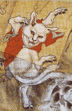 Le Nekomata (ou Bakeneko) est un chat aux pouvoirs surnaturels, capable de projeter du feu, de faire danser les morts, de prendre possession du corps de ses maîtres ou encore de prendre forme humaine. On les reconnaît à leur double queue.