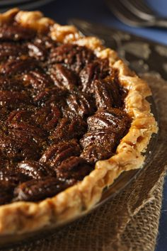 Jack daniels black bottom pecan pie