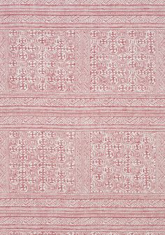 MONTECITO, Red, AW78722, Collection Palampore from Anna French