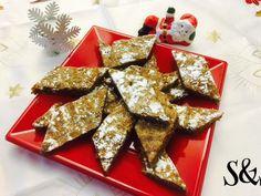 Ricciarelli sono una pietanza natalizia toscana    toscana