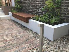 Outdoor Sofa, Outdoor Living, Outdoor Furniture, Outdoor Decor, Planter Boxes, Planters, Backyard, Patio, Mosaic Glass