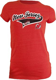 Red New Jersey Devils T-Shirt