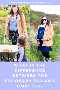 BABY: What is the difference between the Ergobaby 360 and OMNI 360? | Treasure Every Moment